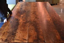 how to finish a table top with polyurethane reclaimed wood furniture premium epoxy hd threshing