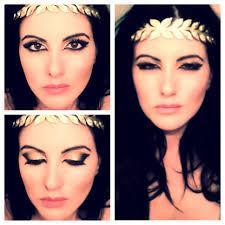 gold halloween makeup the roman goddess look beauty makeup goddesslook costume