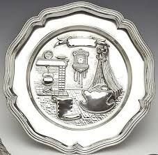baby birth plates personalized mullingar pewter baby plate gift 97 50 a bit o blarney