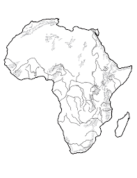 africa map drawing unit 4 mr geography for