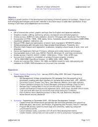 quality assurance resume exles senior qa engineer sle resume 2 quality assurance sles