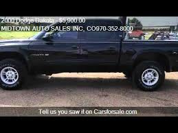 dodge dakota crew cab 4x4 for sale 2000 dodge dakota cab sport 4wd for sale in greeley