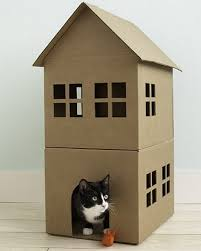 diy ideas how to make a cat house cutedecision