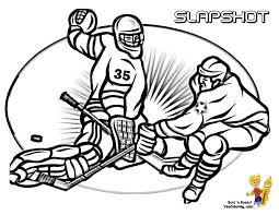 hockey coloring pages glum me