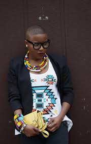black women platham short hair great style matching traditional south african accessories with a