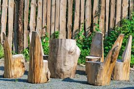 tree stumps into furniture and other useful items pioneer dad