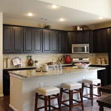 Espresso Cabinets With Black Appliances Kitchens U0026 Dinings Paint Colors With Espresso Cabinets Kitchen