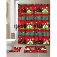 Shower Curtain With Tree Design Christmas Shower Curtains You U0027ll Love Wayfair
