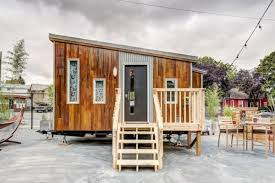 Modern Tiny Home by The Modern Tiny House Hotel Room At Tiny Digs