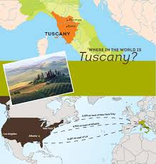 Map Of Tuscany Italy Tuscan Italian Dining Olive Garden Restaurants