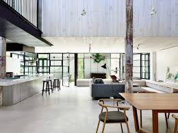 Industrial Loft Decor by Old Brick Warehouse In Melbourne Finds New Life As A Bright Modern