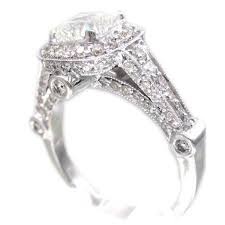 Vintage Style Cushion Cut Engagement Rings 180 Best Engagement Rings Images On Pinterest Engagement Rings