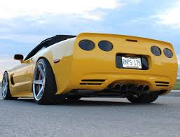 yellow corvette c5 chevrolet corvette c5 360 forged concave 5