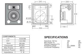 Bass Speaker Cabinet Design Plans Ciare 10 64 Mb 10 8ohm Mid Bass Speaker