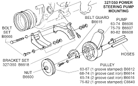 corvette supply 327 350 power steering mounting diagram view chicago