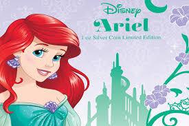 ariel mermaid continues niue u0027s disney princesses