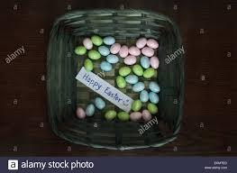 foam easter eggs colorful foam easter eggs in green basket stock photo royalty