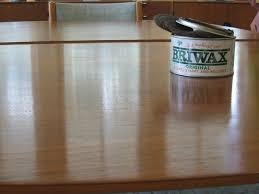 how to rescue a worn dining table the briwax