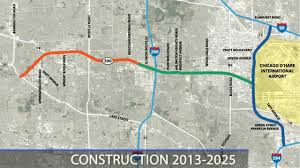 Map Of Chicago O Hare by Elgin O U0027hare Western Access Eowa Project Overview Youtube
