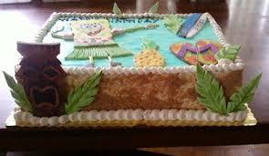 Tara U0027s Piece Of Cake Hawaiian Luau Birthday Cake