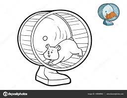 Livre de coloriage Hamster  Photographie ksenyasavva © 139586992