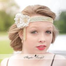 brown lace flapper headband gatsby costume 1920s feather
