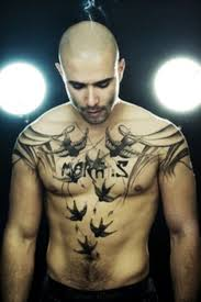 Mens Chest Tattoos - 45 intriguing chest tattoos for