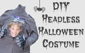 make a costume for halloween diy headless halloween costume 2016 youtube