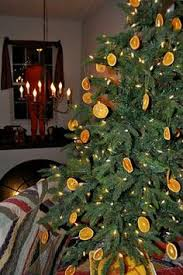decorations from the kitchen dried orange slices