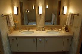 artistic small bathroom corner vanity ideas using cream marble