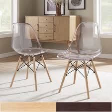 Clear Eames Chair Clear Dining Room U0026 Kitchen Chairs Shop The Best Deals For Nov