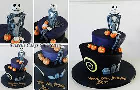 nightmare before christmas wonky cake wedding cake chichester