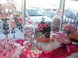 Pink And Black Candy Buffet by Pink Black Candy Bar Wrapper Creations Jazzy Pink