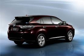 toyota new suv car new toyota harrier suv photo gallery autocar india