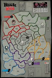 Monopoly Map Playing Dead The Walking Dead Monopoly And Risk Games Available