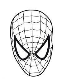 spiderman face logo spiderman mask clipart 23425wall jpg fun stuff