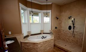Modern Shower Designs And Glass Enclosures Modern Bathroom - Open shower bathroom design