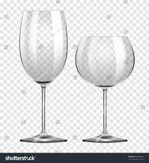 Types Of Wine Glasses And Their Uses About Glass Two Different Types Wine Glasses Illustration Stock Vector