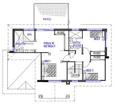 4 Bedroom Two Storey House Plans Two Storey House Floor Plans Australia House Design Plans