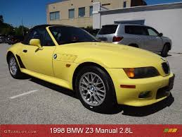 1998 dakar yellow bmw z3 2 8 roadster 81170954 photo 8