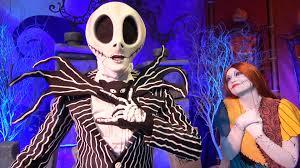 jack skellington u0026 sally meet u0026 greet at mickey u0027s not so scary