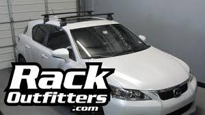 lexus ct austin lexus ct200h thule rapid traverse black aeroblade roof rack u002712