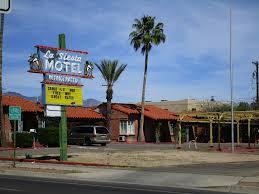 vintage motel building u0026 neon sign la siesta motel view u2026 flickr