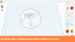 3d printed project designing and 3d printing a lithophane