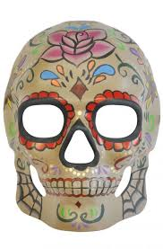 day of the dead masks antique cobweb day of the dead mask purecostumes