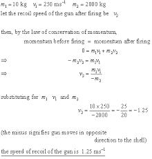 conservation momentum momentum u0026 impulse mechanics revision notes