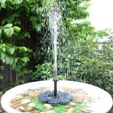 Solar Floating Pond Lights by Anself Solar Pump Floating Water Fountain For Bird Bath Pond Sales