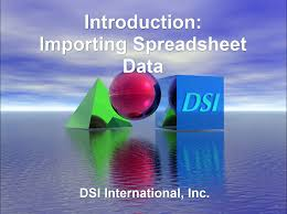 Online Spreadsheet Viewer Spreadsheet Imports Dsi International