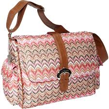 kalencom a step above 7 colors diaper bag pink 2960ripplesunbu