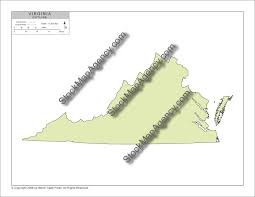 Virginia Blank Map by Stockmapagency Com Simple Outline Map Of Virginia Available As